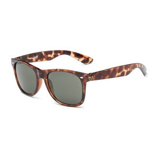 Turtoise Framed Sunglasses With Green Grey 54-millimeter Lens