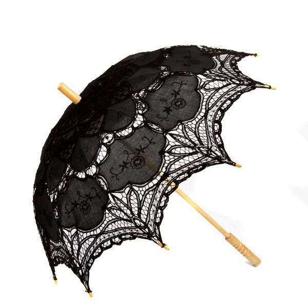 f17f86e546dc Shop Leisureland Vintage Handmade Victorian Lace Parasol Umbrella ...