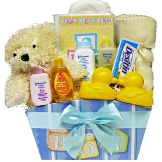 It's A Girl!' or 'It's A Boy!' New Baby Gift Basket