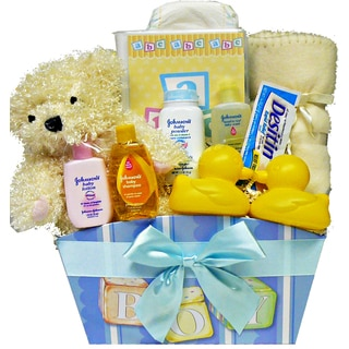 It's A Girl!' or 'It's A Boy!' New Baby Gift Basket