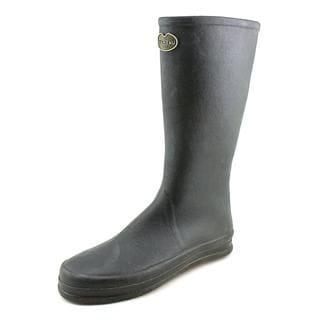 Le Chameau Women's Botte Cabourg Black Rubber Boots