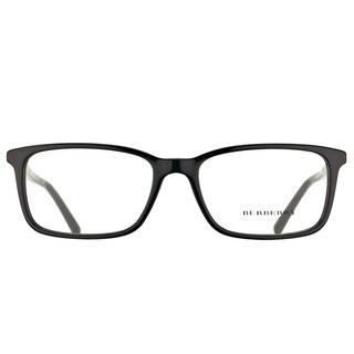 Burberry Black Plastic Rectangular Eyeglasses