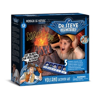 Geoworld Dr. Steve Hunters Volcano Activity Kit