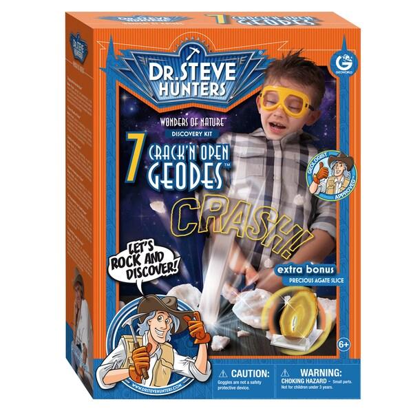 Geoworld Dr. Steve Hunters Multicolored Plastic Crack 'Em Open Kit