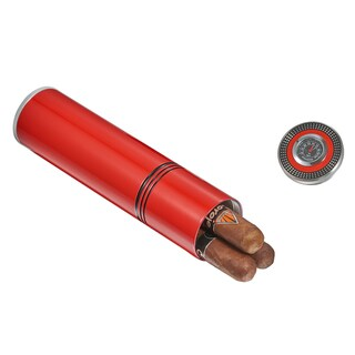 Link to Visol Little Joe Travel Humidor - Red Similar Items in Humidors & Accessories
