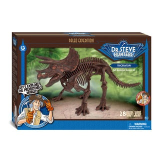 Geoworld Dr. Steve Hunters Paleo Expeditions Triceratops Kit