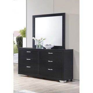 LYKE Home Bree Dresser and Mirror Combo