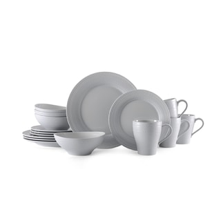 Mikasa Ryder Grey 16-piece Dinnerware Set