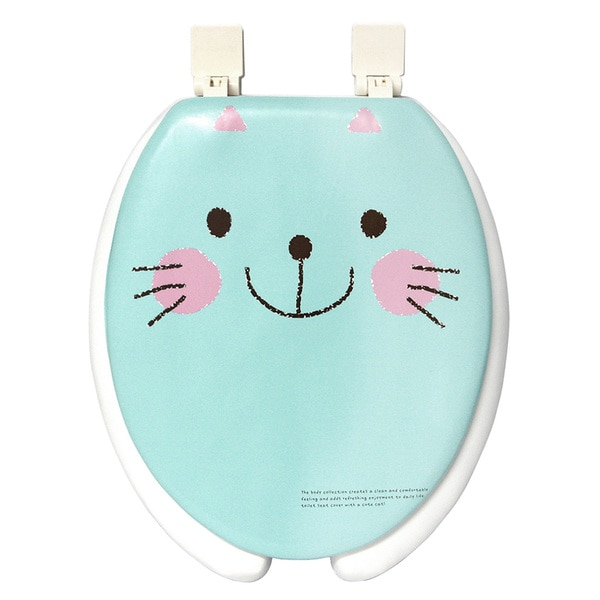 Shop Happy Seat Cat Soft Padded Round Toilet Seat With