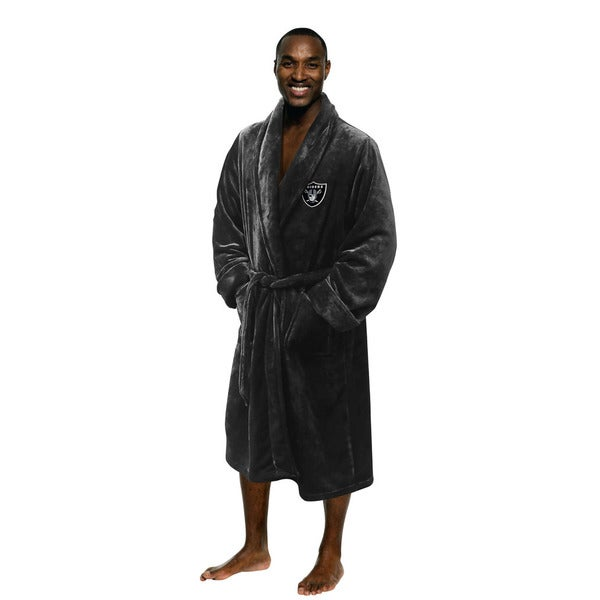 NFL 349 Raiders Men's L/XL Bathrobe