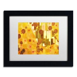 Adam Kadmos 'GoldenAge' Matted Framed Art