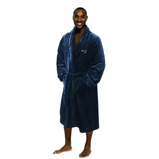 The Northwest Company NFL New England Patriots Men's L/XL Bathrobe