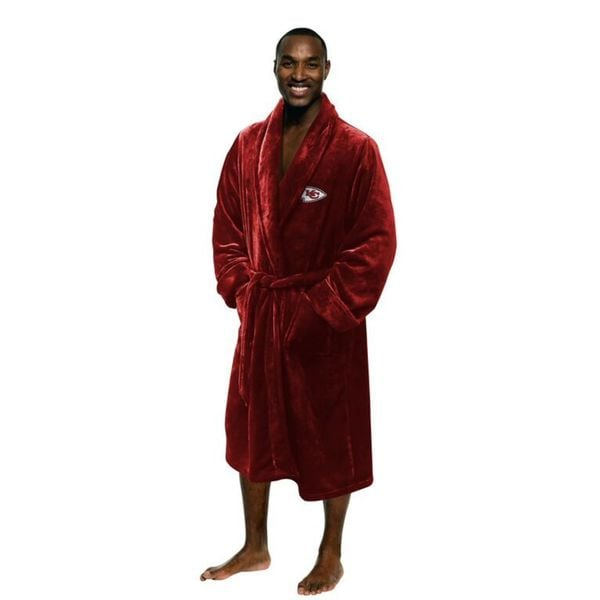 NFL 349 Chiefs Men's L/XL Bathrobe