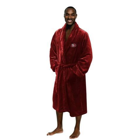 NFL 349 49ers Men's L/XL Bathrobe