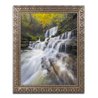 Mathieu Rivrin 'Symphony of Autumn' Ornate Framed Art
