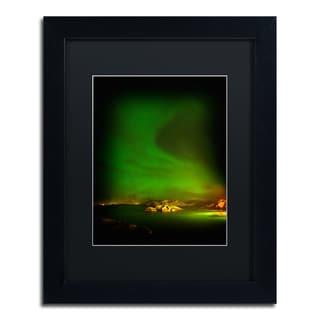 Philippe Sainte-Laudy 'Aurora Borealis' Matted Framed Art