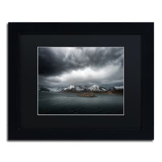 Philippe Sainte-Laudy 'Grey' Matted Framed Art