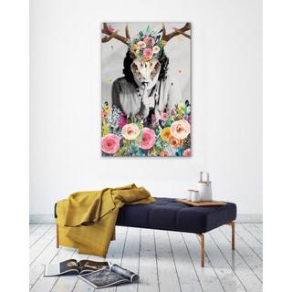 Bohemian Decor 'Sassy Gals Wisdom' Unframed Canvas Wrap