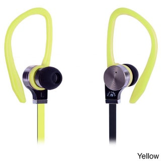 Fuji Labs Sonique SQ306 Black Premium Titanium In-line Mic In-ear Headphones (Option: Yellow)