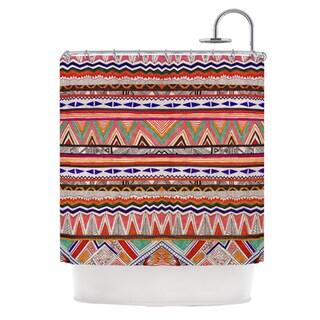 Kess InHouse Vasare Nar 'Native Tessellation' Shower Curtain (69x70)