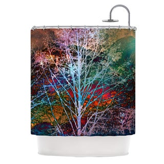 Kess InHouse Sylvia Cook 'Trees in the Night' Shower Curtain (69x70)