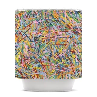 Kess InHouse Project M 'More Sprinkles' Shower Curtain (69x70)