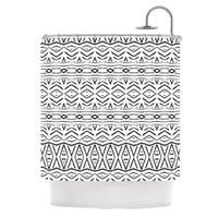Kess InHouse Pom Graphic Design 'Tambourine' Shower Curtain (69x70)
