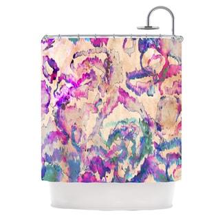 Kess InHouse Nikki Strange 'Weirdi Kat' Shower Curtain (69x70)