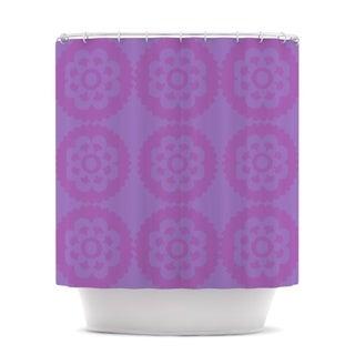 Kess InHouse Nicole Ketchum 'Moroccan Lilac' Shower Curtain (69x70)