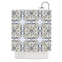 Kess InHouse Miranda Mol 'Ice Stars' Shower Curtain (69x70)
