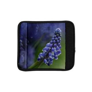 KESS InHouse Angie Turner 'Grape Hyacinth' Green Purple Luggage Handle Wrap