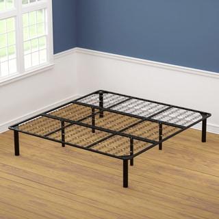 King Size Black Steel Bed Frame