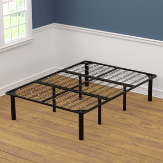 Full Size Black Steel Bed Frame