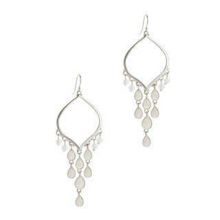 Relic Silver Overlay Crystal Earrings