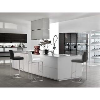 Link to TOV Denmark White Barstool (Set of 2) Similar Items in Dining Room & Bar Furniture