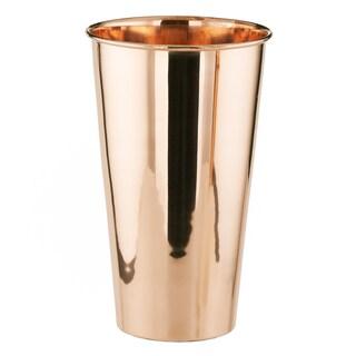 32 Oz Solid Copper Lassi Glass