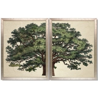 Art Virtuoso's Strutt Tree Duo Framed Art Print
