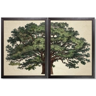Art Virtuoso 'Strutt Tree' Framed Print