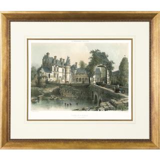 Art Virtuoso's 'Chateaux' 31 3/8-inch x 36 5/8-inch Framed Print