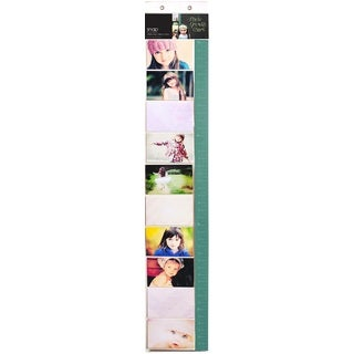 Clear Plastic Snap Photo Measuring Chart With Pocket