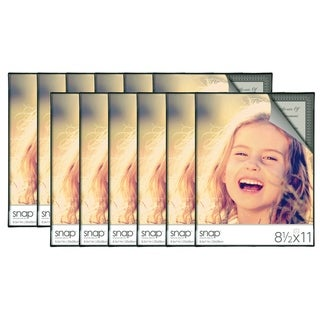 Snap Front Loading Document Frames (Set of 12)