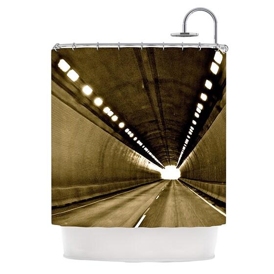 Kess InHouse Maynard Logan 'Tunnel' Shower Curtain (69x70)