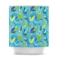 Kess InHouse Michelle Drew 'Underwater Bouquet' Shower Curtain (69x70)