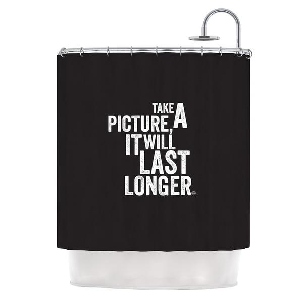 Kess InHouse KESS Original 'Take A Picture' Shower Curtain (69x70)
