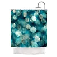 Kess InHouse Ingrid Beddoes 'Shades of Blue' Shower Curtain (69x70)