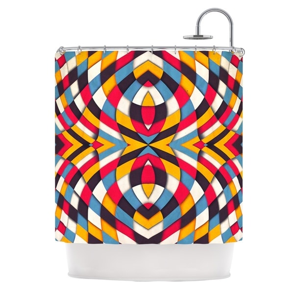 Kess InHouse Danny Ivan 'Stained Glass' Shower Curtain (69x70)
