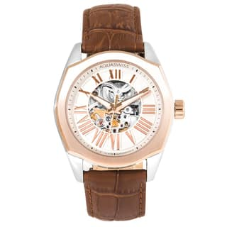 Aquaswiss Men's 30GA006 Rose Gold Legend Automatic Watch https://ak1.ostkcdn.com/images/products/12096775/P18960228.jpg?impolicy=medium