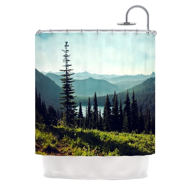 KESS InHouse Sylvia Cook 'Discover Your Northwest' Shower Curtain (69x70)
