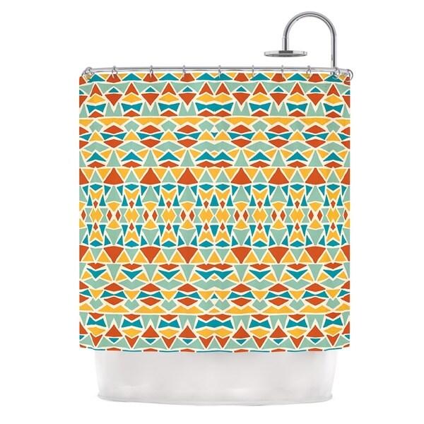 KESS InHouse Pom Graphic Design 'Tribal Imagination' Shower Curtain (69x70)