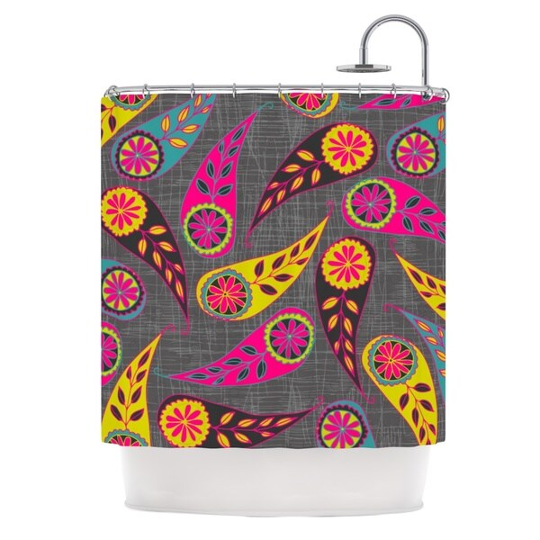 KESS InHouse Nandita Singh 'Bohemian II' Shower Curtain (69x70)